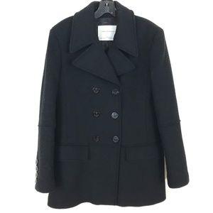 Zara Woman wool blend peacoat winter jacket